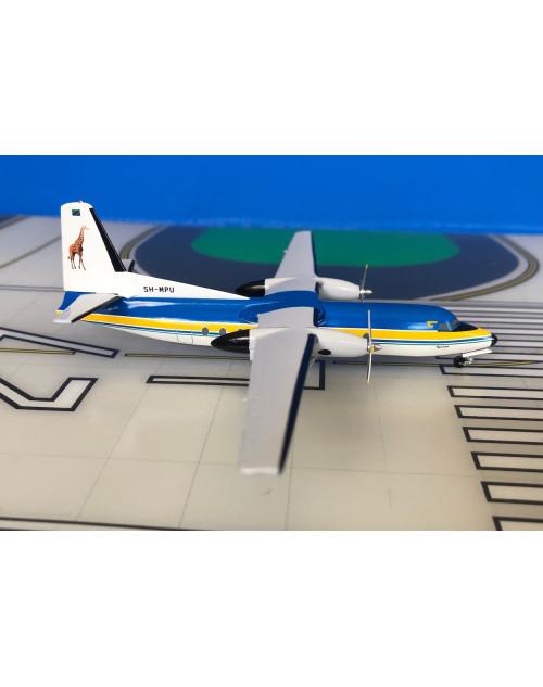 Air Tanzania Fokker F-27-600 5H-MPU 1990s 1/200 scale diecast Aeroclassics