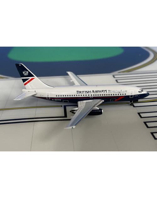 "British Airways Boeing 737-200/Adv G-BKYN Landor ""Birmingham"" 1/400 scale diecast Aeroclassics"