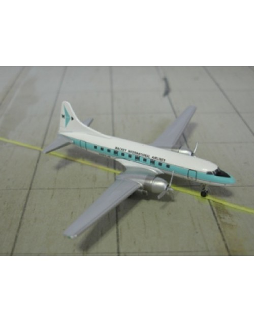 Mackey International Convair 440, N442-JM 1/400 scale diecast Aeroclassics