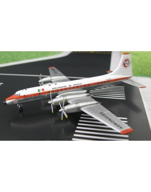 Aeronaves de Mexico Britannia-302 XA-MED 1/400 scale diecast Aeroclassics