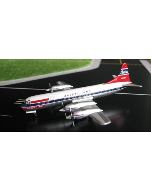 Ansett ANA Lockheed L-188 Electra VH-RMA 1/400 scale diecast Aeroclassics