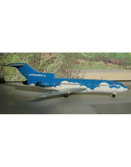 Northeastern Boeing 727-100 N357QS Blue 1/400 scale diecast Aeroclassics