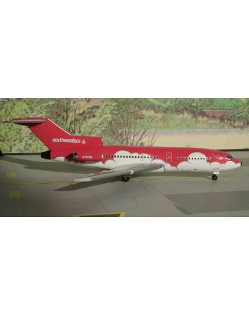 Northeastern Boeing 727-100 N356QS Red 1/400 scale diecast Aeroclassics