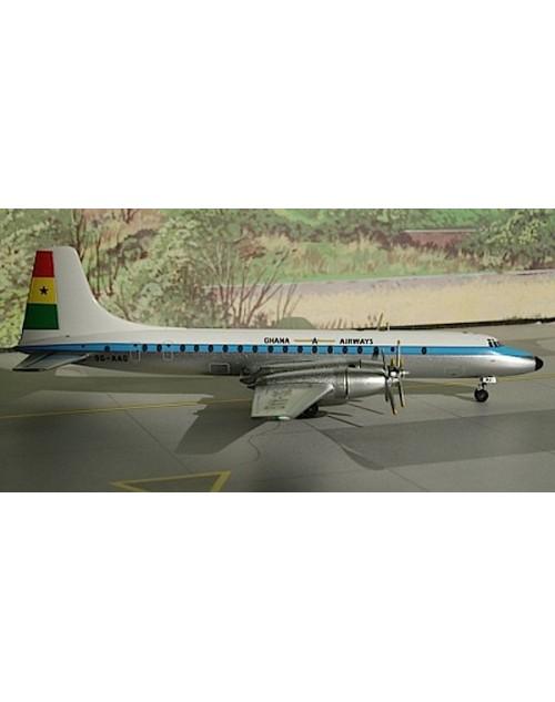 Ghana Airways Britannia-302 9G-AAG 1/400 scale diecast Aeroclassics