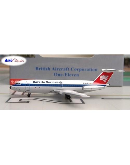 Bavaria Germanair BAC-111-414EG D-AISY 1/400 scale diecast Aeroclassicas