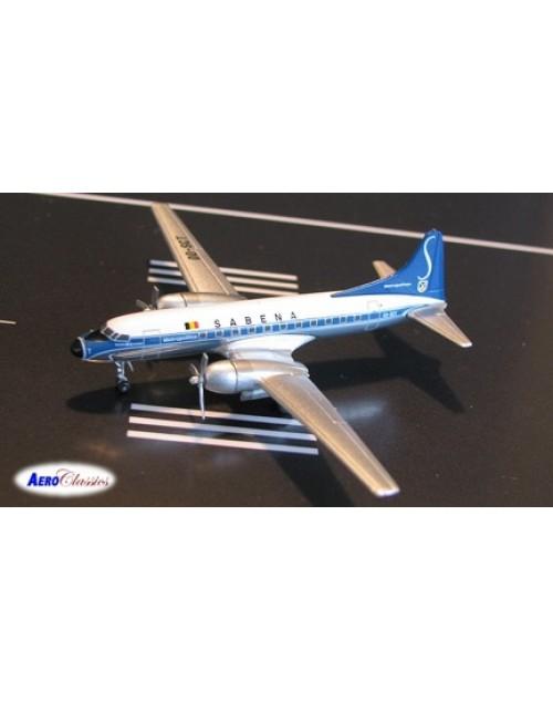 Sabena Convair 440-12 OO-SCT 1/400 scale diecast Aeroclassics
