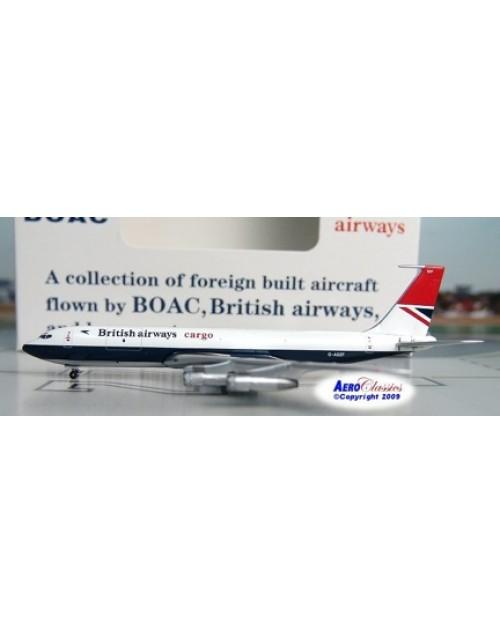 British Airways Cargo 707-336C G-ASZF 1/400 scale diecast Aeroclassics