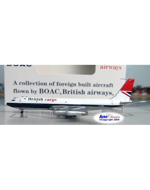 British Cargo Boeing 707-336C G-ASZG 1/400 scale diecast Aeroclassics