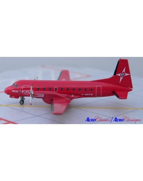Parcel Force HS 748 G-OPFW 1/400 scale diecast Aeroclassics