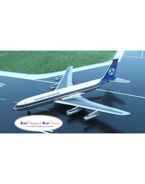 Ontario Worldair Boeing 707-338C C-GRYN 1/400 scale diecast Aeroclassics
