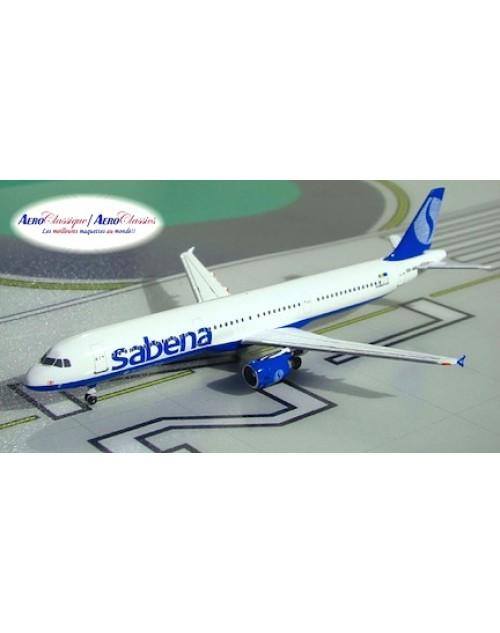 Sabena Airbus A321-211 OO-SUC Qualifier 1/400 scale diecast Aeroclassics