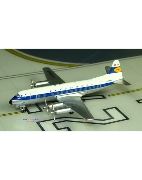 Lufthansa Viscount 814 D-ANAB 1/400 scale diecast Aeroclassics