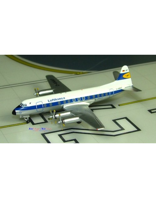 Lufthansa Viscount 814 D-ANAF 1/400 scale diecast Aeroclassics