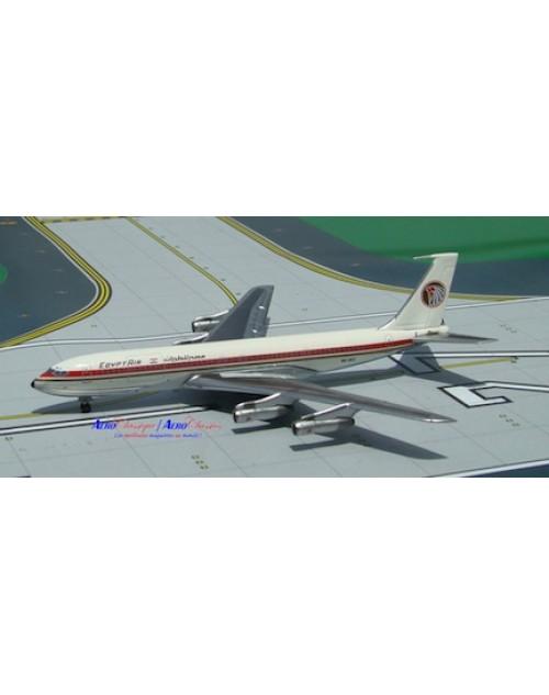 EgyptAir Boeing 707-366C SU-AVZ MENA, Black titles 1/400 diecast Aeroclassics