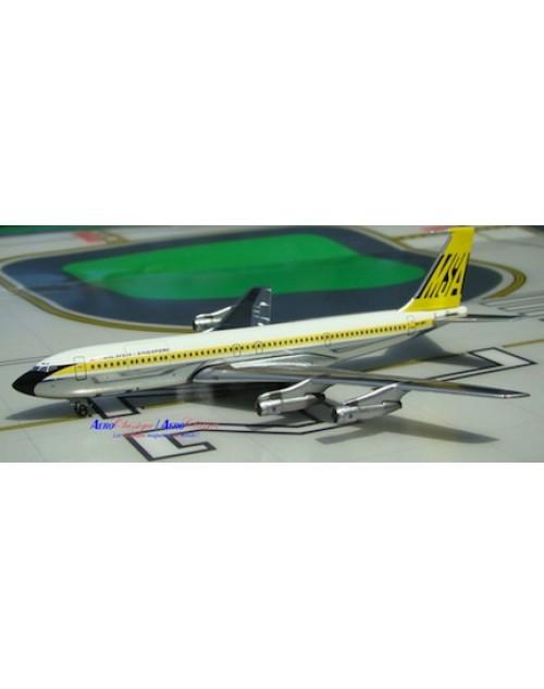 Malaysia Singapore Boeing 707-327C 9M-AQB 1/400 scale diecast Aeroclassics