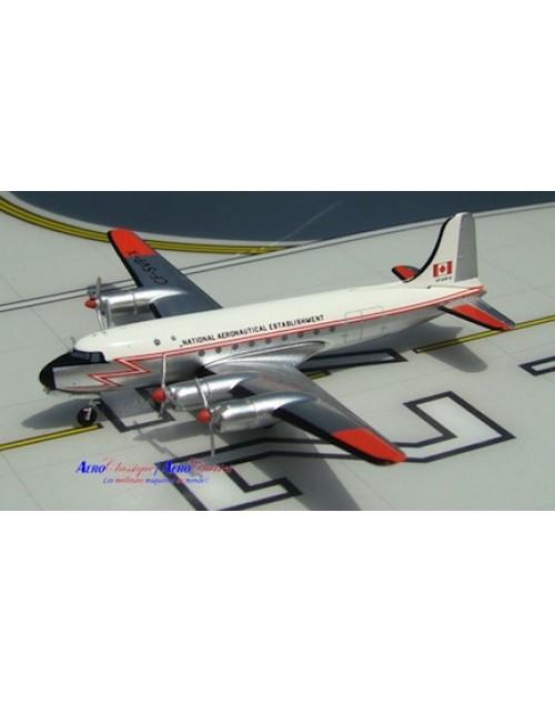 National Aeronautical Establishment Canadair C-4 Argonaut CF-SVP-X 1/400 scale diecast Aeroclassics