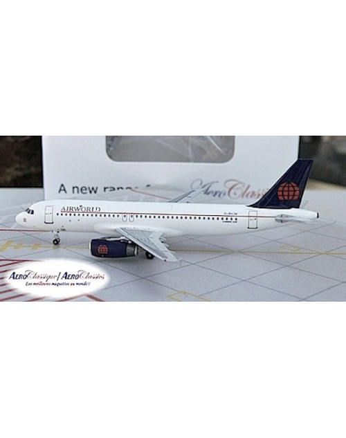 Air World Airbus A320-231 G-BVJW 1/400 scale diecast Aeroclassics