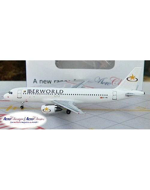 IberWorld Airbus A320-214  EC-IMU 1/400 scale diecast Aeroclassics