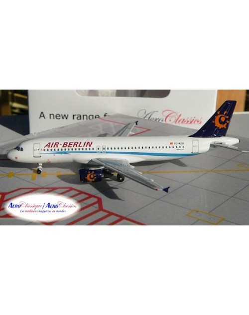 Air Berlin Airbus A320-214 EC-KDD 1/400 scale diecast Aeroclassics
