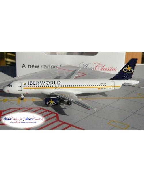 IberWorld Airbus A320-214 EC-IAG 1/400 scale diecast Aeroclassics