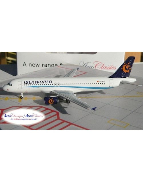 IberWorld Airbus A320-214 EC-KYZ 1/400 scale diecast Aeroclassics