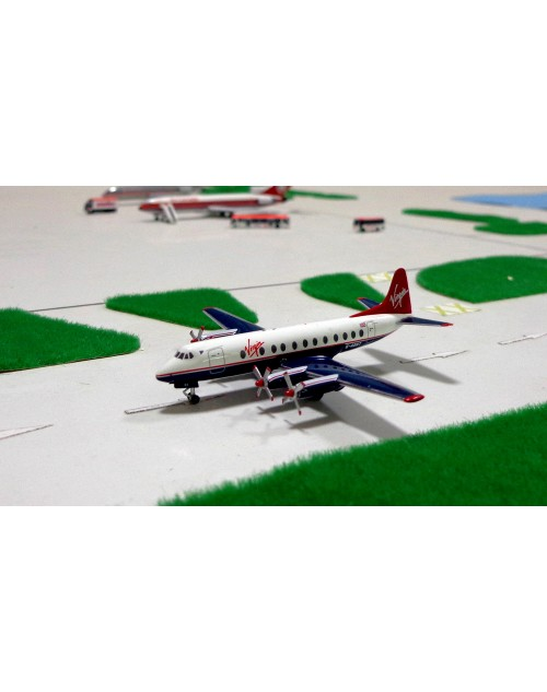 Virgin Atlantic/BAF Viscount 802 G-AOHT 1/400 scale diecast Aeroclassics