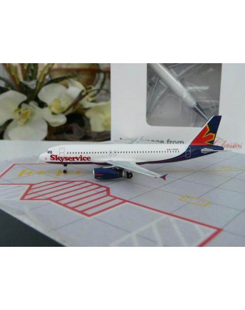 SkyService Canada Airbus A320-232 C-GTDC 1/400 scale diecast Aeroclassics