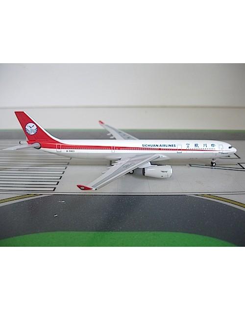 Sichuan Airlines Airbus A330-343 B-5923 1/400 scale diecast Aeroclassics