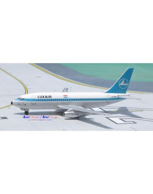 Luxair Boeing 737-2C9Adv LX-LGH 1/400 scale diecast Aeroclassics