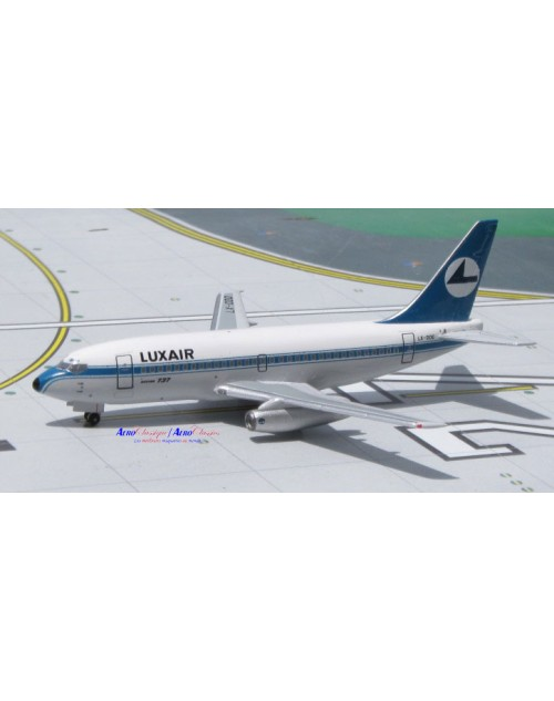 Luxair Boeing 737-229 LX-OOO 1/400 scale diecast Aeroclassics