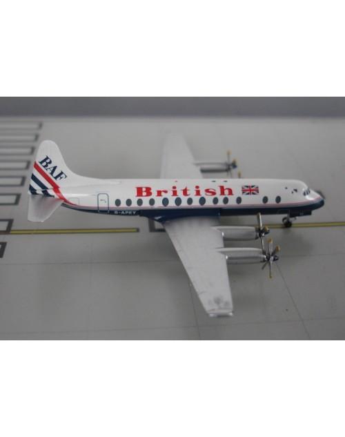 """British Air Ferries Viscount 806 G-APEY """"British"""" 1/400 diecast Aeroclassics"""