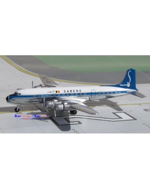 Sabena Douglas DC-6B, OO-CTK 1/400 scale diecast Aeroclassics
