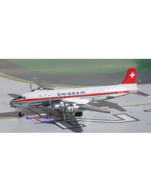 Swissair Douglas DC-6B HB-IBU 1/400 scale diecast Aeroclassics