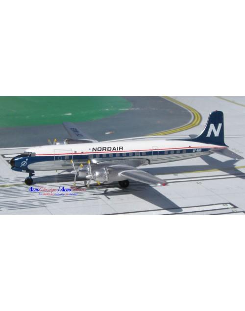 Nordair Douglas DC-6A CF-NAB 1/400 scale diecast Aeroclassics