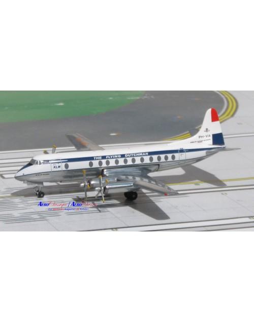 KLM Viscount 803 PH-VIA 1/400 scale diecast Aeroclassics