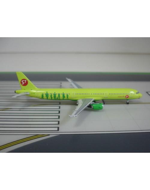 S7 Siberia Airlines Airbus A321-211 VQ-BQH 1/400 scale diecast Aeroclassics