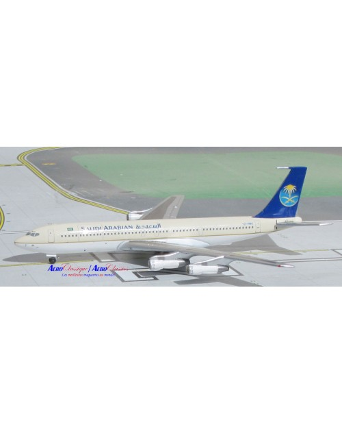 Saudi Arabian Boeing 707-320C HZ-HM2 1/400 scale diecast Aeroclassics