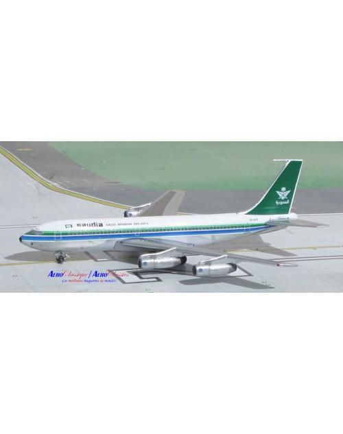 Saudia Boeing 720-068B HZ-ACB 1/400 scale diecast Aeroclassics