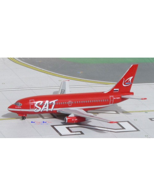 SAT Airlines Boeing 737-2J8/Adv RA-73003 1/400 scale diecast Aeroclassics