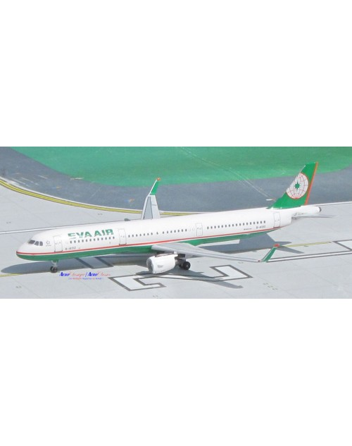 EVA Air Airbus A321-211Sharklets B-16212 1/400 scale diecast Aeroclassics