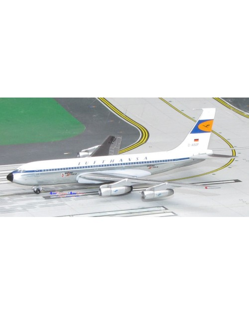 Lufthansa Boeing 720-030B D-ABOP old colors 1/400 scale diecast Aeroclassics