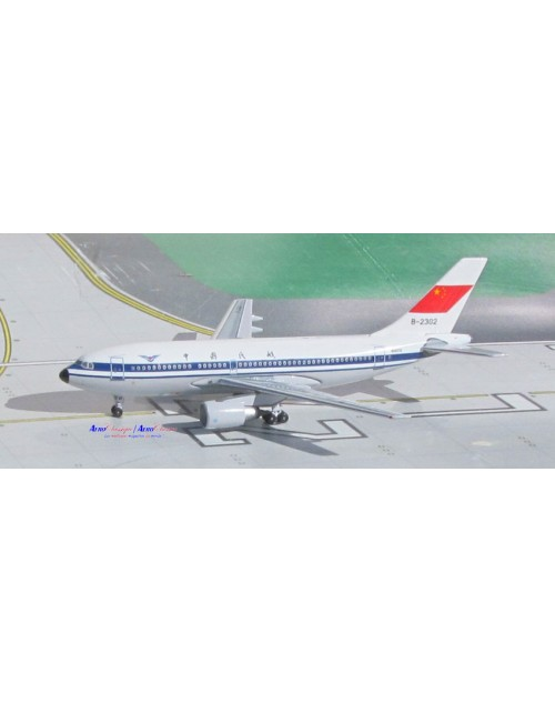 CAAC - Civil Aviation Administration of China Airbus A310-222 B-2302 1/400 diecast scale Aeroclassics Models