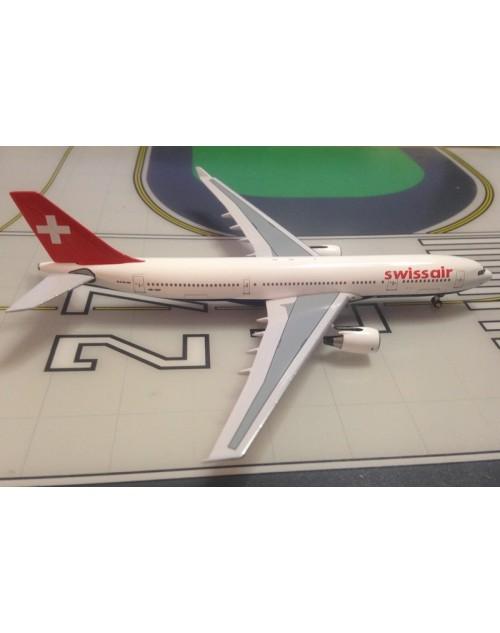 Swissair Airbus A330-223HB-IQP Final colors 1/400 scale diecast Aeroclassics