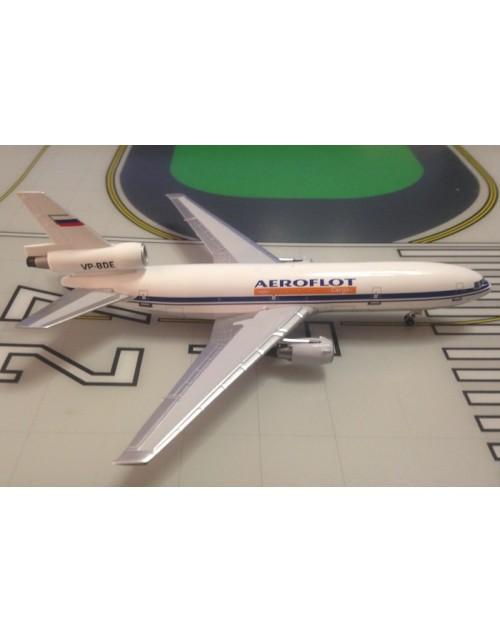 Aeroflot Cargo Douglas DC-10-40F VP-BDE 1/400 scale diecast Aeroclassics