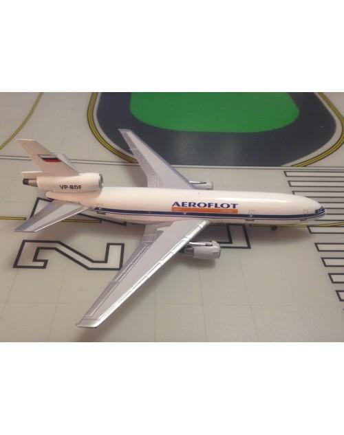 Aeroflot Cargo Douglas DC-10-40F VP-BDF 1/400 scale diecast Aeroclassics