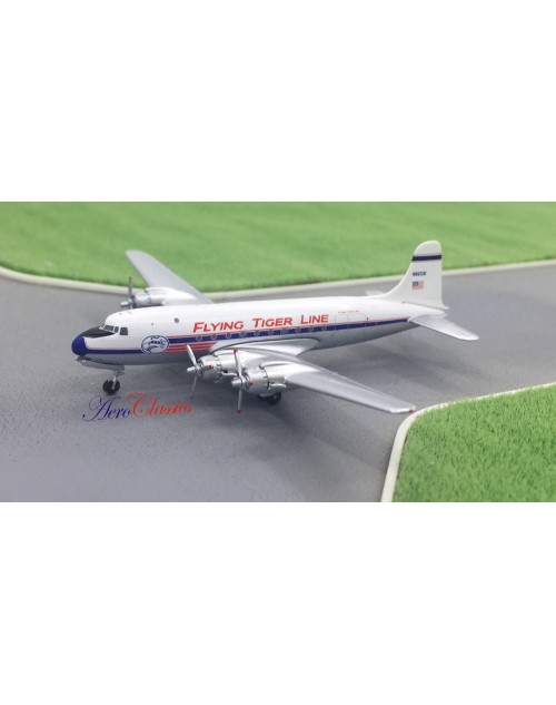 Flying Tiger Line Douglas DC-4 N86581 1/400 scale diecast Aeroclassics