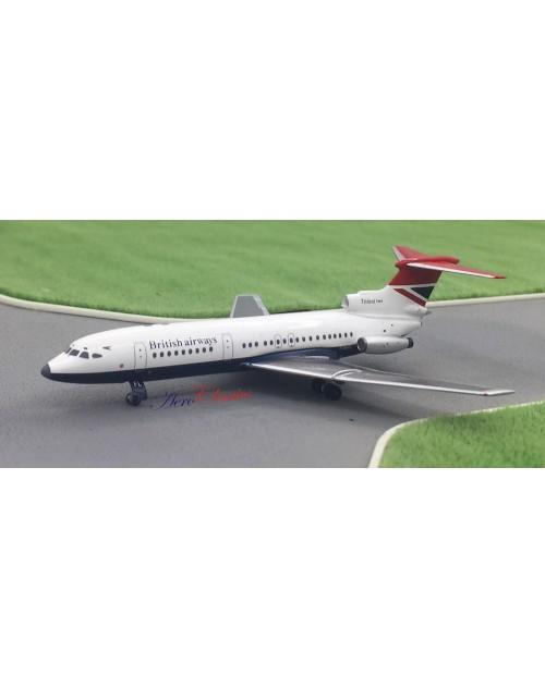 British Airways HS Trident 2E G-AVFL 1980's 1/400 scale diecast Aeroclassics