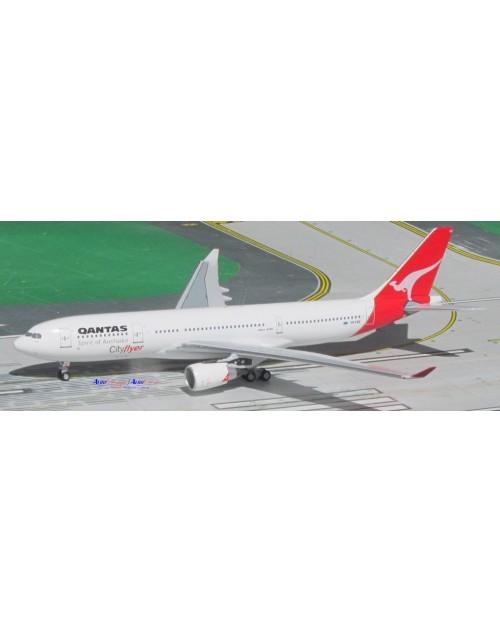 Qantas Airbus A330-201 VH-EBB Cityflyer 1/400 scale diecast Aeroclassics