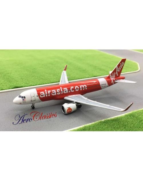 Air Asia Airbus A320-251N (NEO) 9M-AGA 1/400 scale diecast Aeroclassics