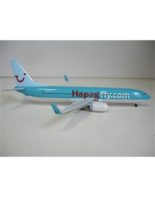 Hapagfly.com Boeing 737-8K5W D-AHFP 1/200 scale diecast Aviation 200 Models